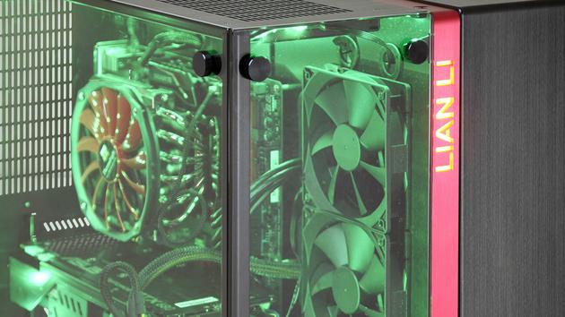 Lian Li PC-O9: Gehäuse mit zwei Gesichtern aus Glas und Aluminium