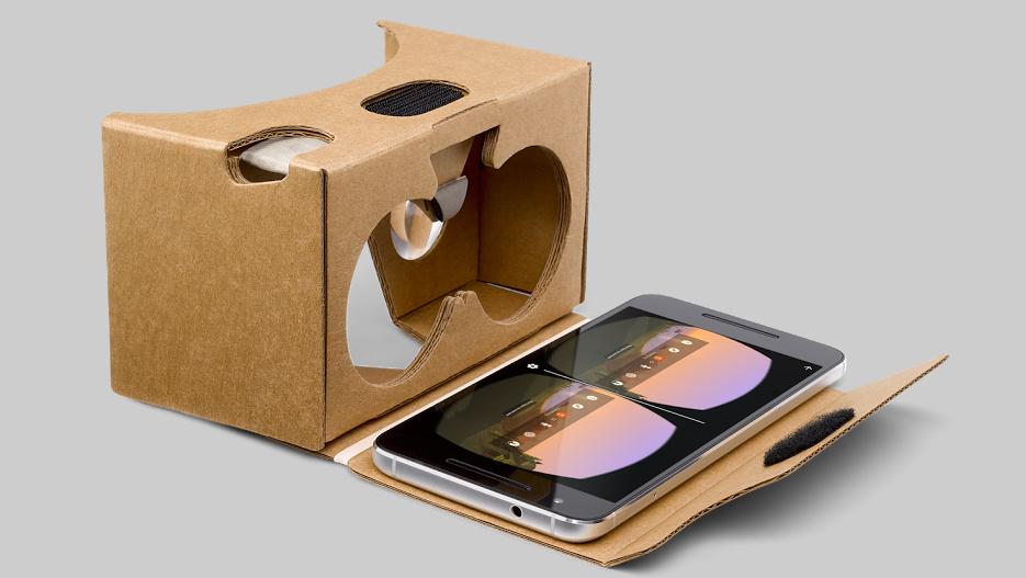 Cardboard: Google verkauft VR-Gestell für 15 bis 20 Euro