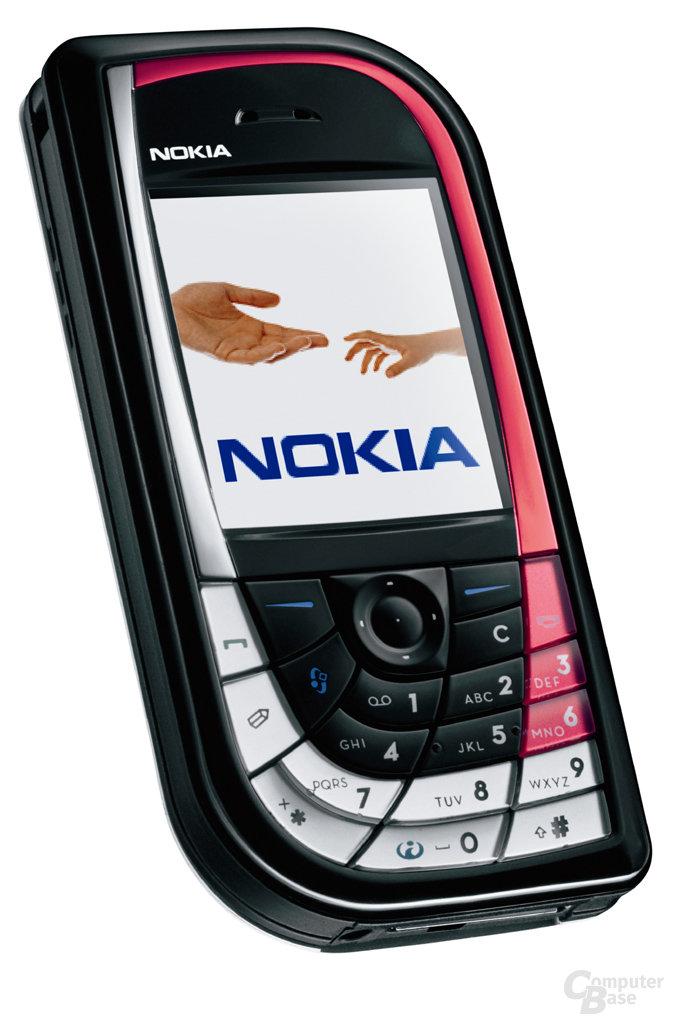 Nokia 7610 in Rot-Schwarz-Kombination
