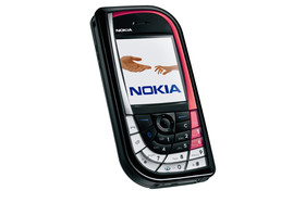 Nokia 7610 in Rot-Schwarz-Kombination
