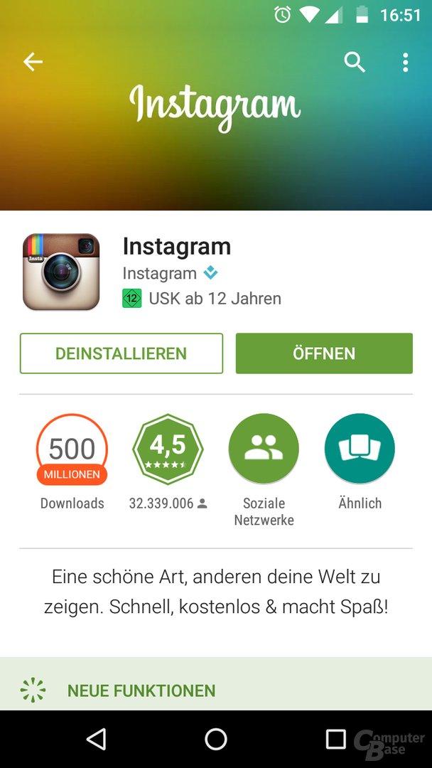 Altes Instagram-Logo