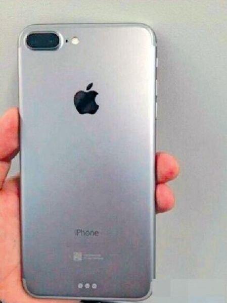 Mutmaßliche Rückseite des iPhone 7 Plus