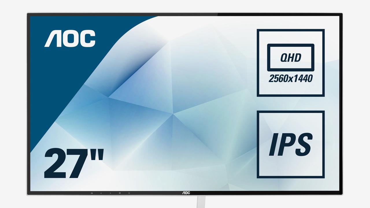 AOC Q2781PQ: Design-Monitor mit dünnem Rahmen bekommt mehr Pixel