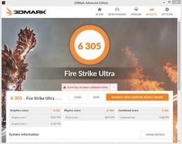 GeForce GTX 1080 Firestrike Ultra (bei 2,1 GHz)
