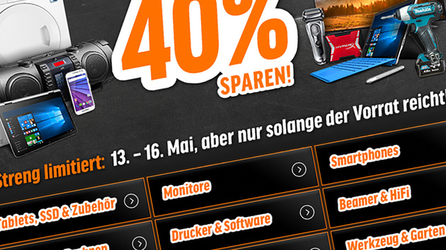 Rabatt-Aktion: Notebooksbilliger startet Black Weekend