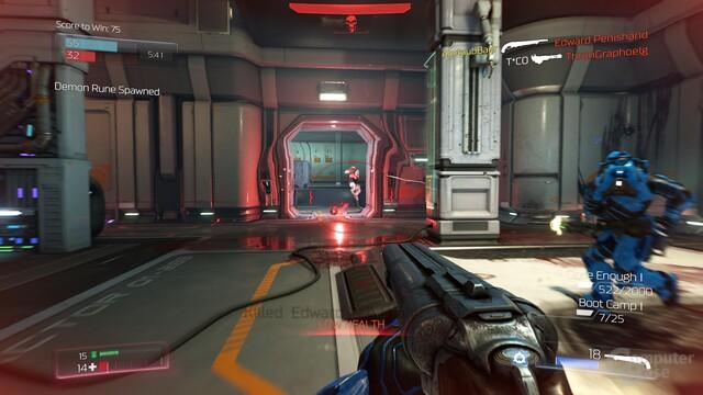 Online weckt Doom keine echte Begeisterung