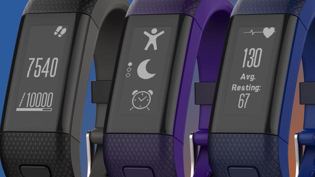 Garmin vívosmart HR+: Fitnesstracker nun auch mit integriertem GPS