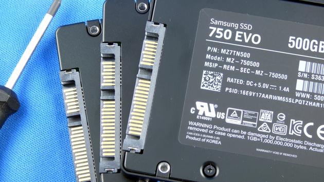 Samsung SSD 750 Evo im Test: Mit der 850 Evo ohne 3D-NAND in den Preiskampf