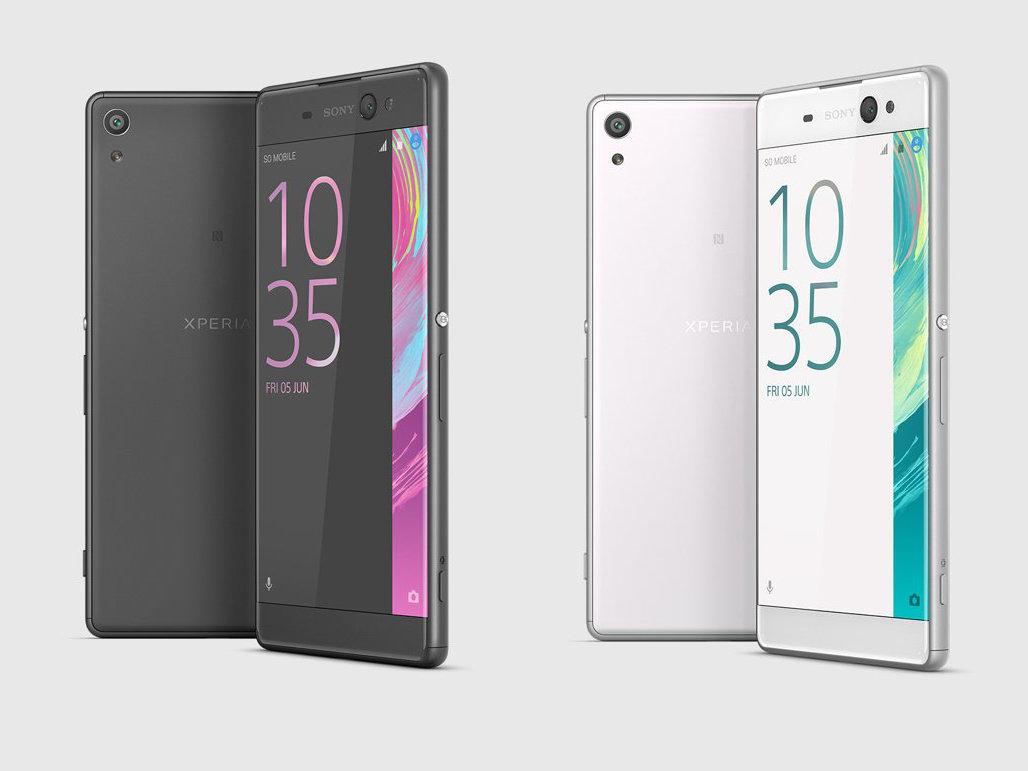 Sony Xperia XA Ultra Schwarz und Weiß