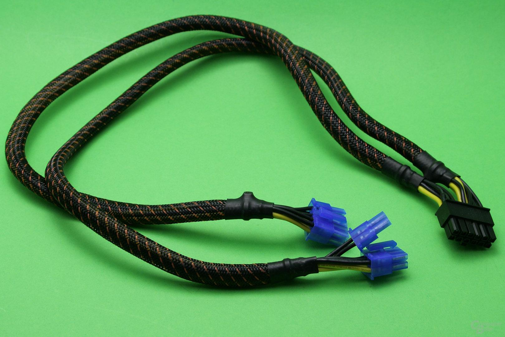 PCI-E-Anschlusskabel eines be quiet! Power Zone