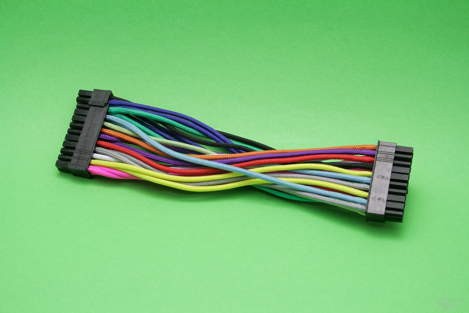 CableMod 24-Pin ATX-Kabel in zwölf Farben