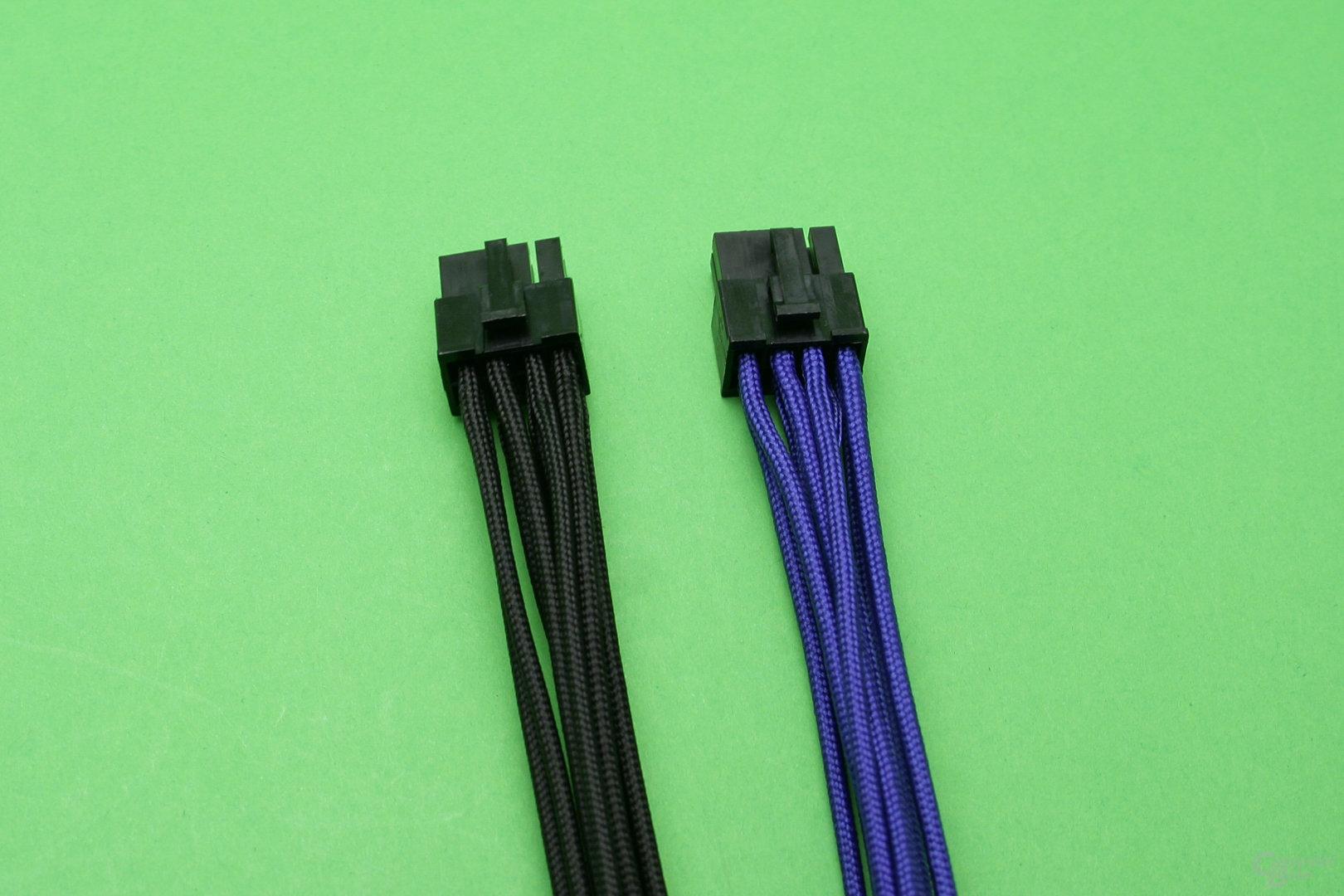 CableMod PCIe-Anschlusskabel: Grafikkarten-Stecker