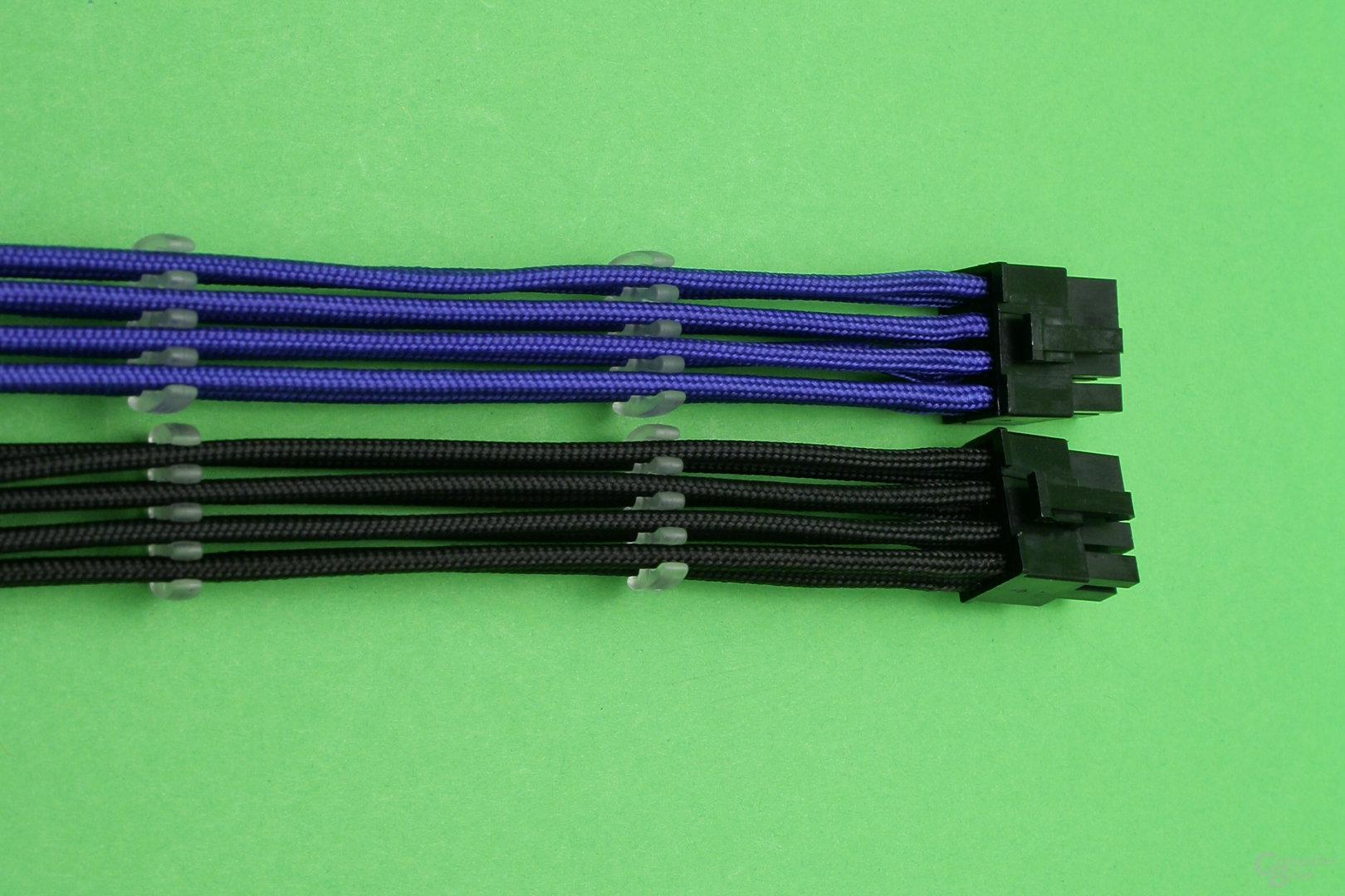 CableMod PCIe-Anschlusskabel mit Kabelkämmen