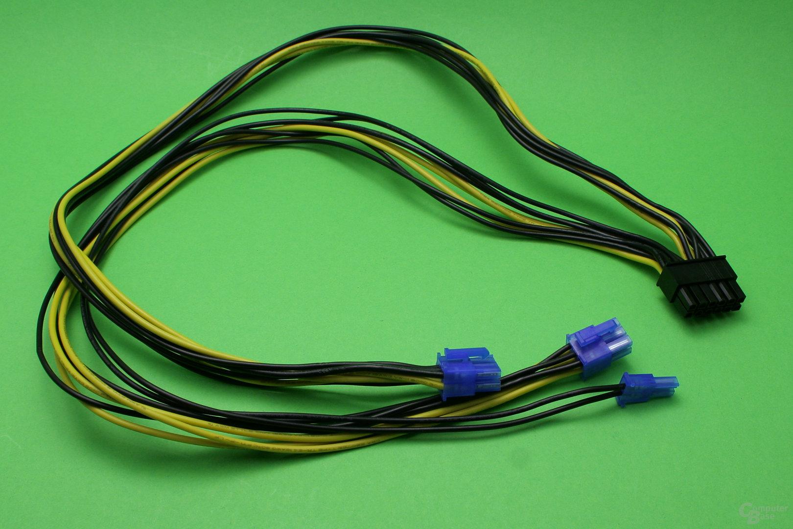 PCI-E-Anschlusskabel ohne Sleeve