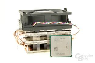 AMD Athlon X4 880K mit Wraith-Light-Kühler