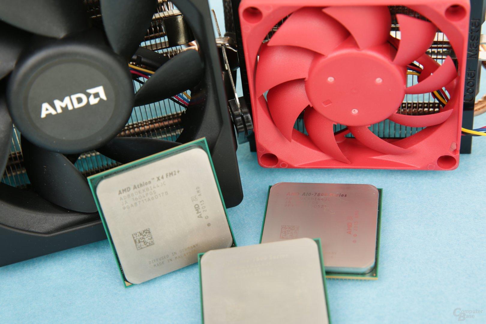 AMDs schnellste Prozessoren für FM2+ im Test