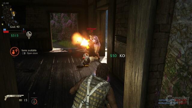 Der Multiplayer unterhält für eine Partie zwischendurch