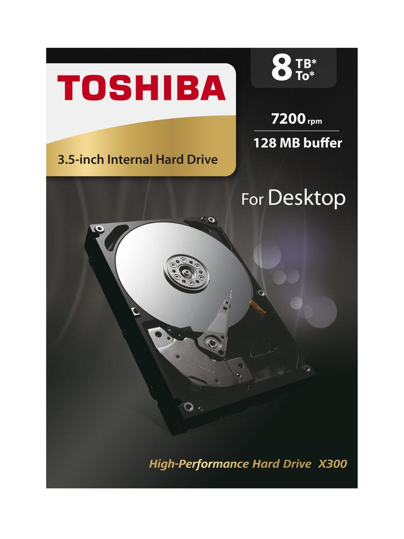 Toshiba HDD X300 8 TB