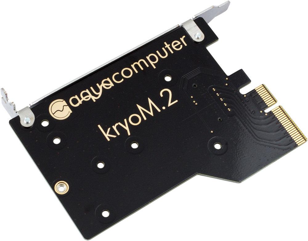 kryoM.2: PCIe-Adapterkarte
