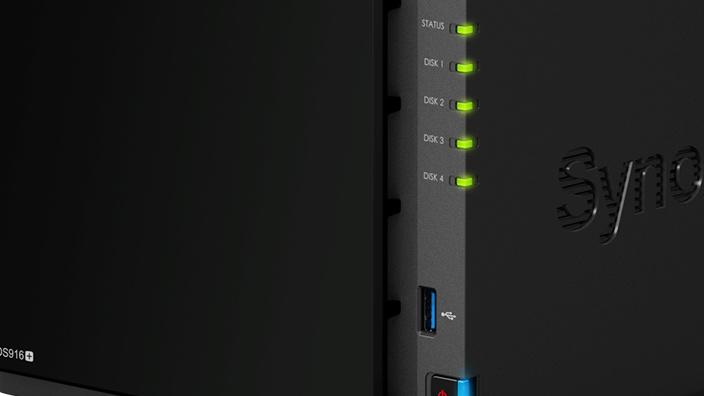 Jetzt verfügbar: Synology DS916+ mit Pentium N3710 kostet 585 Euro