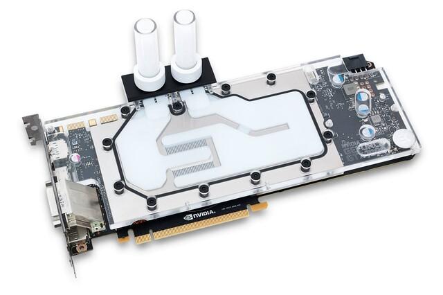 EK Water Blocks für die GeForce GTX 1080