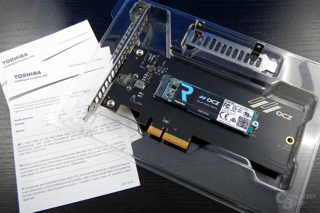 Toshiba OCZ RD400: Lieferumfang