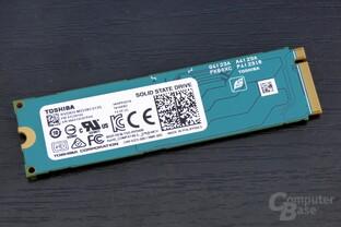 Die RD400 bis  512 GByte sind einseitig bestückt