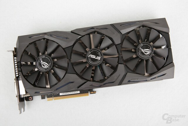 Die Asus GeForce GTX 1080 Strix OC Edition