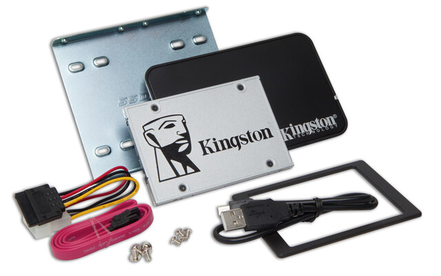 Kingston SSDNow UV400 als Upgrade Bundle Kit