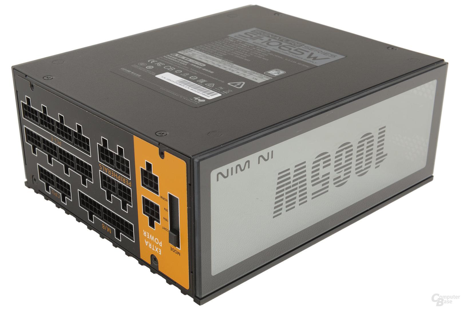 In Win H-Frame 2.0 – Das mitgelieferte Netzteil