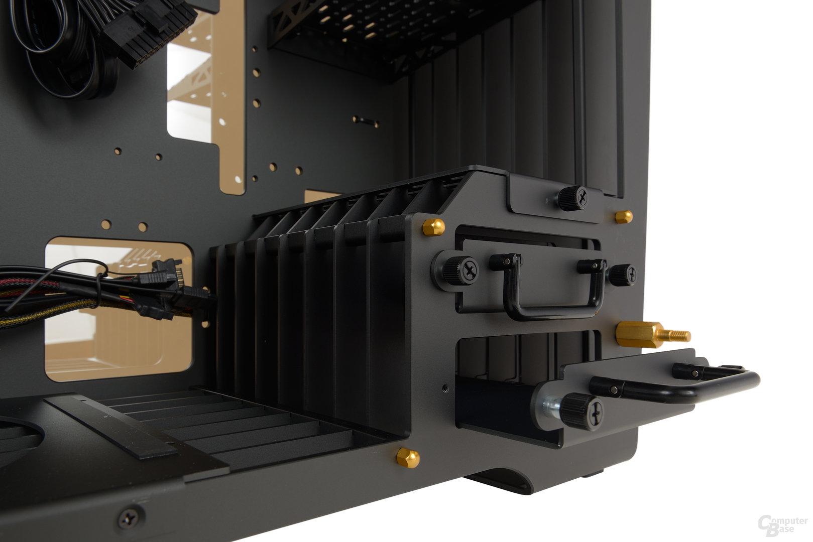 In Win H-Frame 2.0 – Zwei interne Hot-Swap-Einschübe sind auch vorhanden