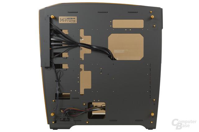 In Win H-Frame 2.0 – Innenraumansicht Rückseite