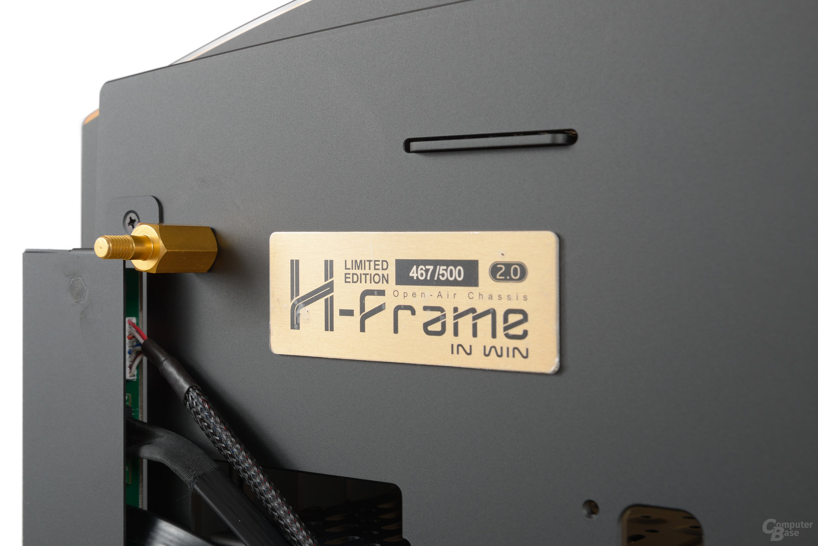 In Win H-Frame 2.0 – Jedes Exemplar trägt eine Seriennummer