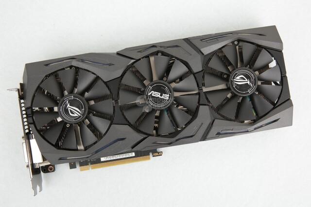 In der Redaktion: Asus GeForce GTX 1080 Strix OC Edition