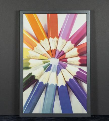 E-Ink-Panel mit neuer ACeP-Technologie zur Farbdarstellung