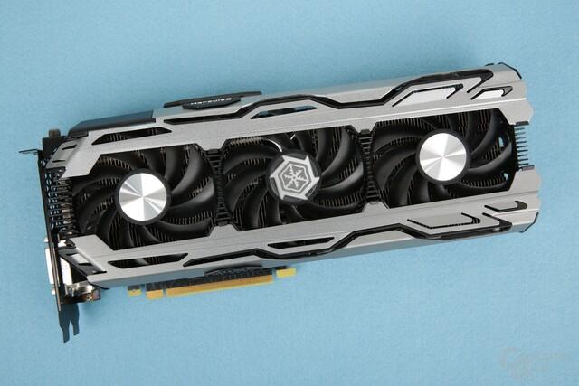 Die Inno3D iChill GeForce GTX 1080 X3 mit drei Lüftern
