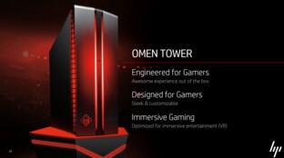 HP Omen Desktops als Komplett-PCs für Gamer