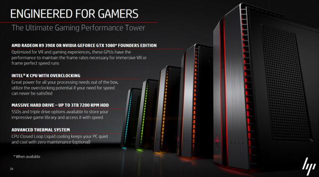 Intel-K-CPU, GTX 1080 oder R9 390X, optionale Wasserkühlung