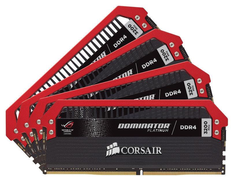 Corsair Dominator Platinum ROG Edition