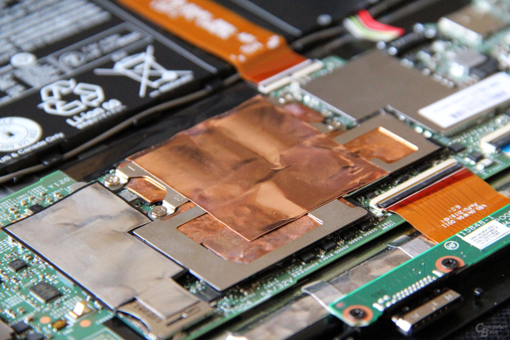 Kühlung des Intel Core m5-6y54