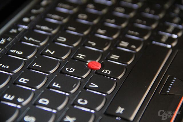 Hintergrundbeleuchtete Tastatur