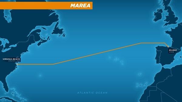 Tiefseekabel Marea: Facebook und Microsoft verbinden Europa und die USA