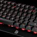Tt eSports Challenger Edge: Freistehende Gummiglocken mit Double-Shot-Beschriftung