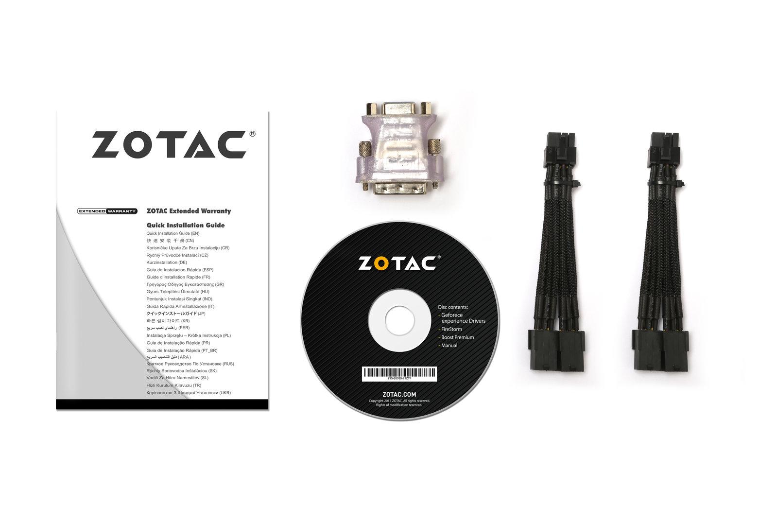 Zotac GTX 1080 AMP! Extreme