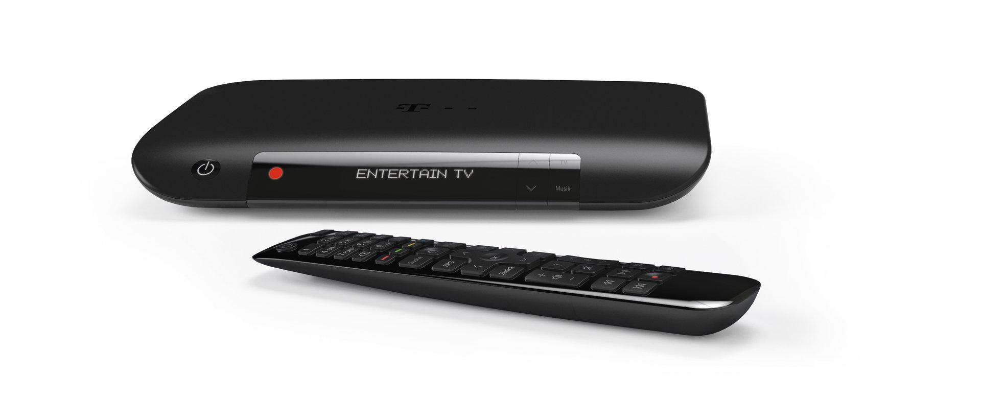 Die Telekom ist mit Fernsehen via Internet vertreten