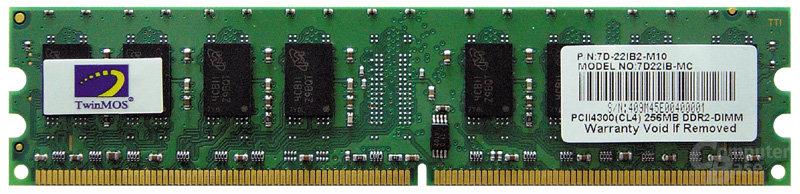 Twinsmos DDR2-433 mit 256MB