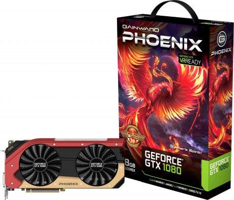 Gainward GTX 1080 Phoenix Series
