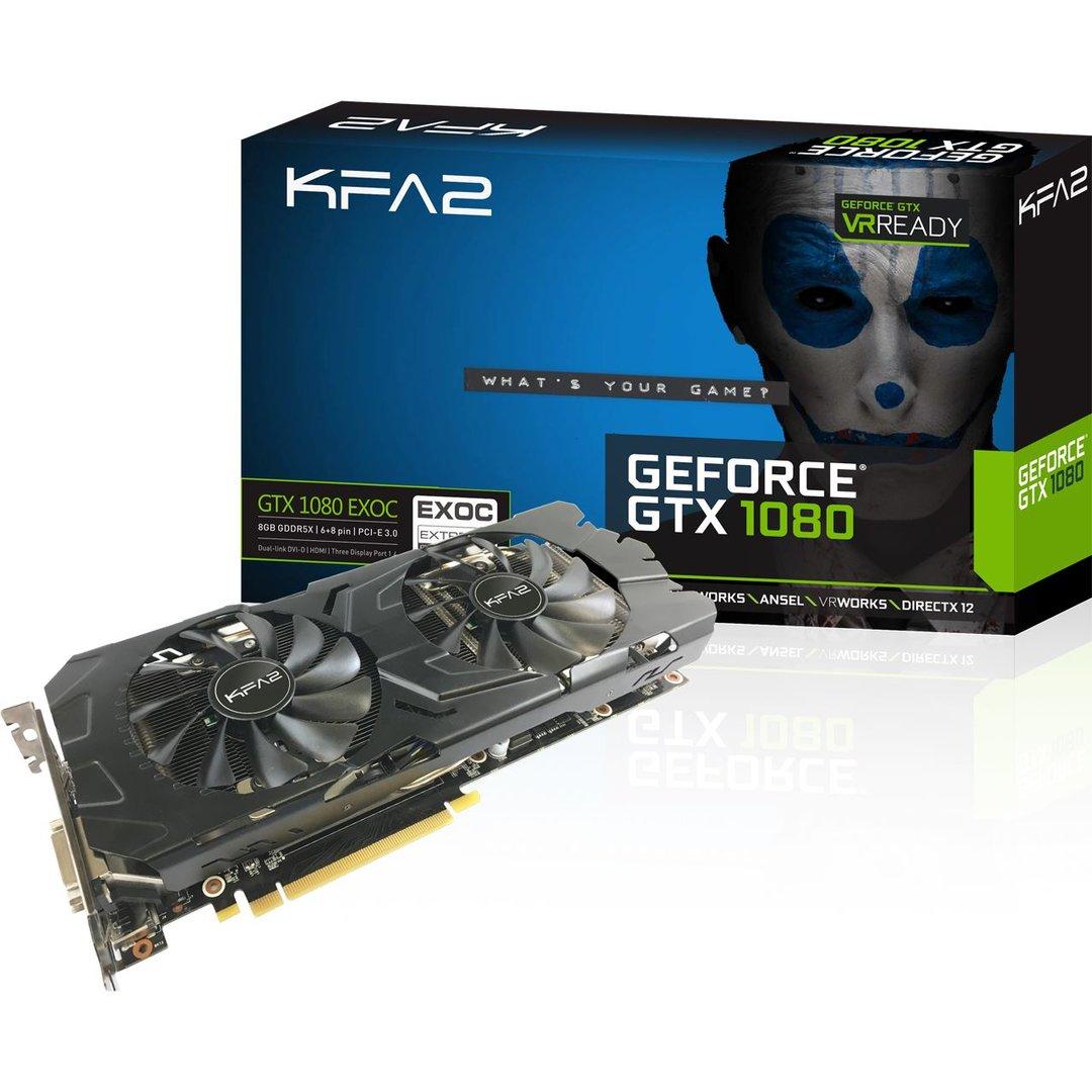 KFA² GTX 1080 EX OC Edition