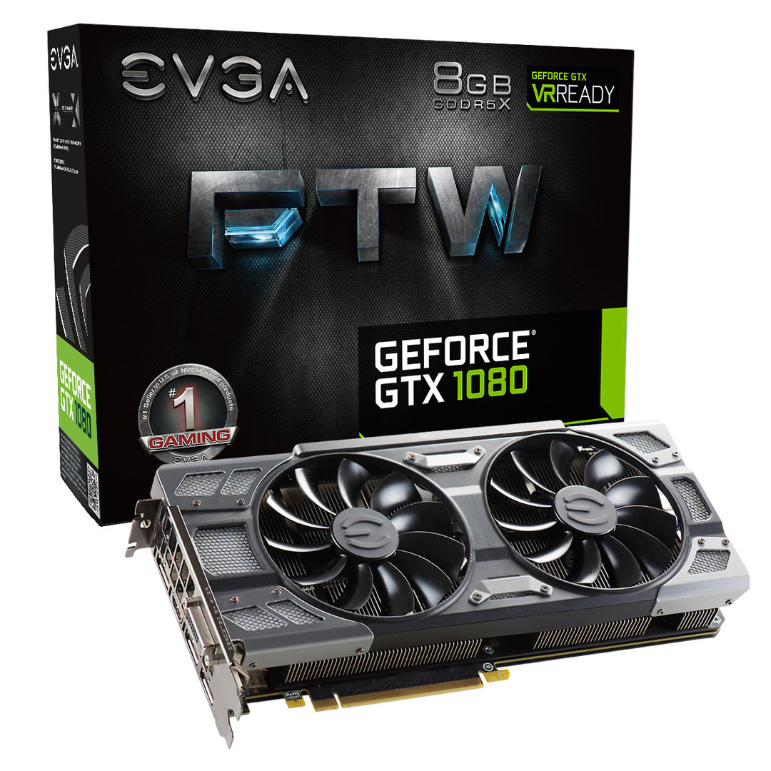 EVGA GTX 1080 FTW Gaming ACX 3.0