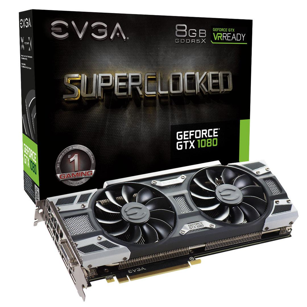 EVGA GTX 1080 SC Gaming ACX 3.0